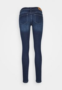ONLY - ONLCORAL LIFE - Vaqueros pitillo - dark blue denim