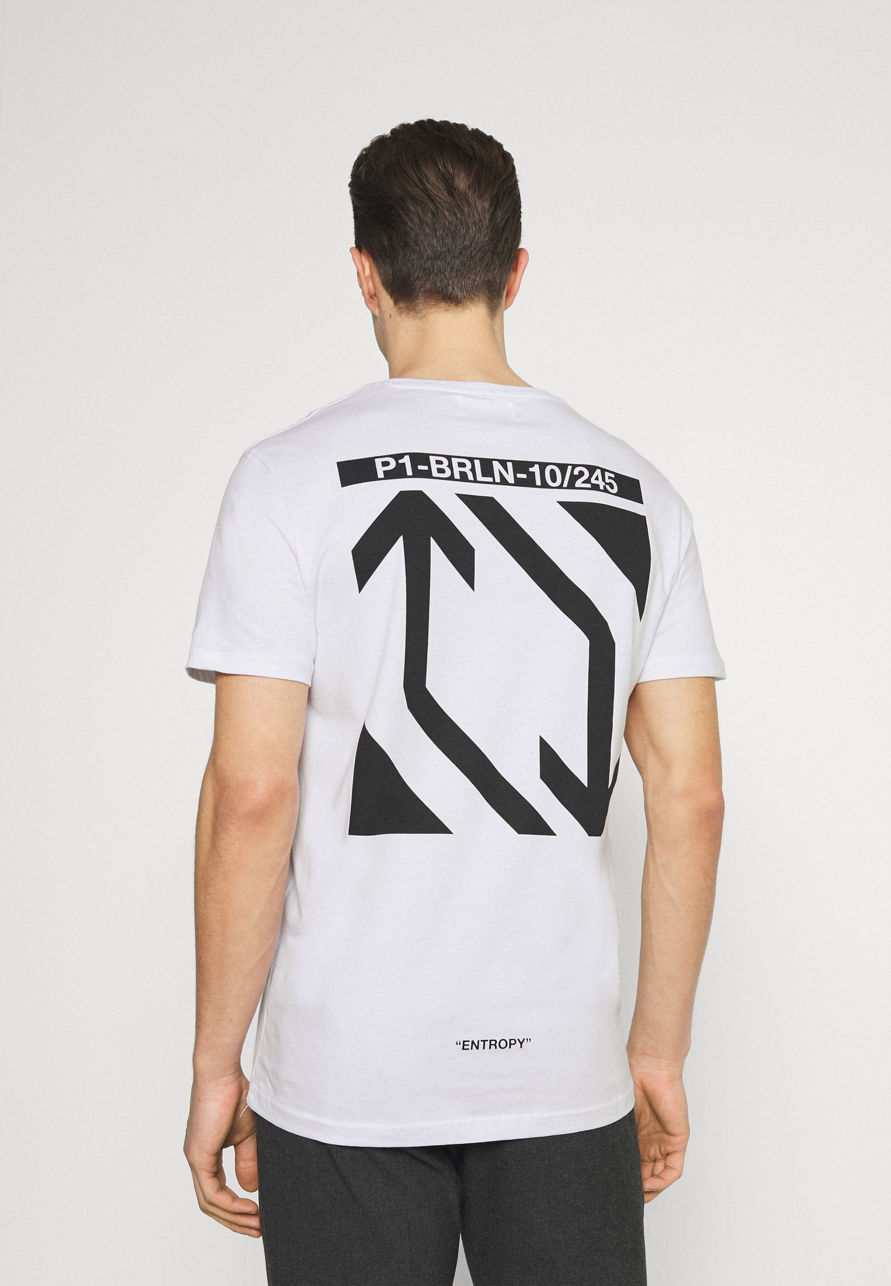 Men CHEST POCKET TEE - Print T-shirt