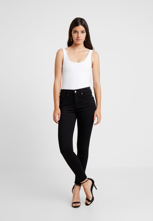 GOOD LEGS CROP - Jeans Skinny Fit - black
