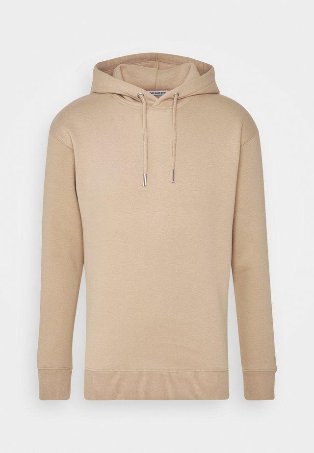 Hoodie - smoked beige