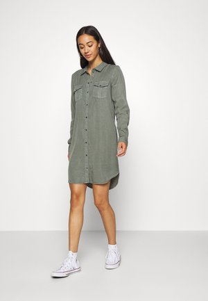 VMSILLA SHORT DRESS  - Shirt dress - laurel wreath