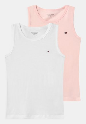 2 PACK - Undershirt - pale pink/white