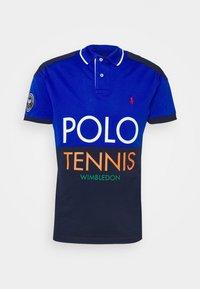 STRETCH COLLAR - Polo shirt - pacific royal