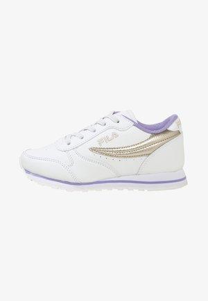 Orbit  F - Sneakers laag - white / gold