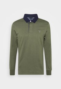GANT - THE ORIGINAL HEAVY RUGGER - Polo shirt - dark green - 4