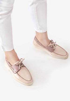 Boat shoes - blush-lilac bsc