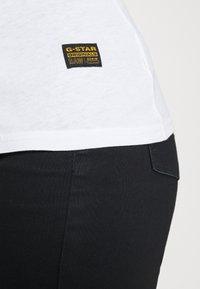 G-Star - CORE EYBEN SLIM U T WMN L\S - Long sleeved top - white - 4