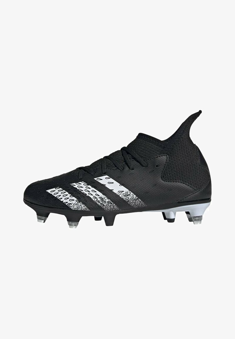 adidas Performance - PREDATOR - Moulded stud football boots - black