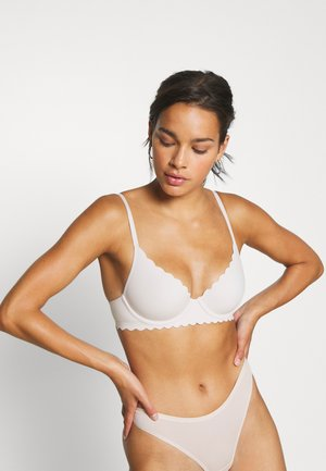 REAL ME UNLINED SCALLOP EDGE - Underwired bra - light pink