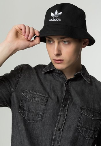 BUCKET HAT UNISEX - Hat - black/ white