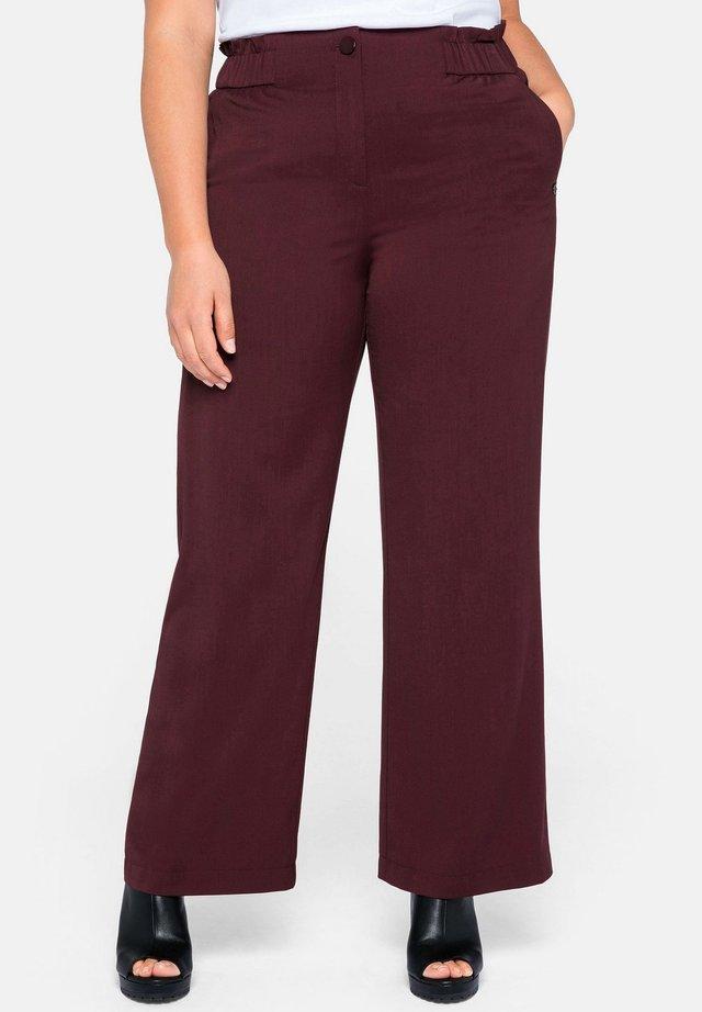 Pantaloni - aubergine