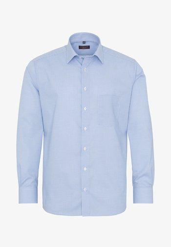 FITTED WAIST - Formal shirt - blue