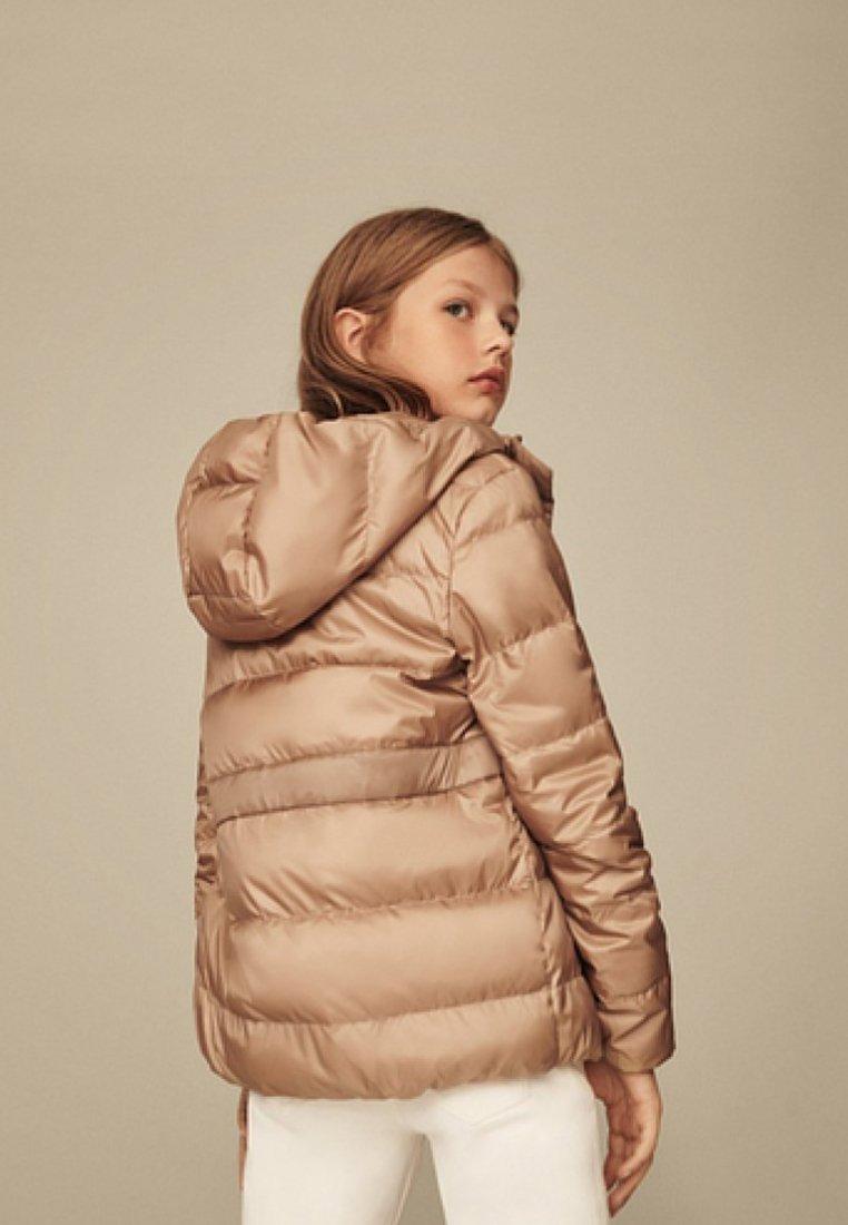 Massimo Dutti - MIT KAPUZE  - Down jacket - brown