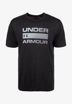 UA TEAM ISSUE WORDMARK  - Print T-shirt - black