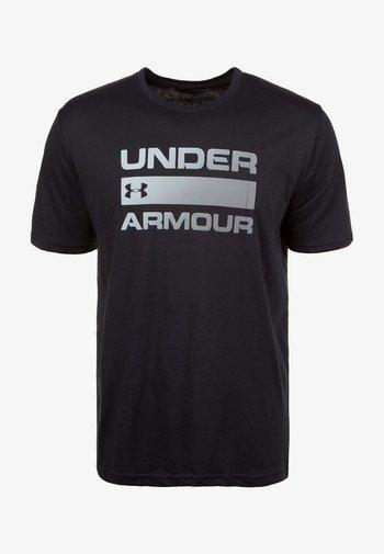 UA TEAM ISSUE WORDMARK  - T-shirts print - black