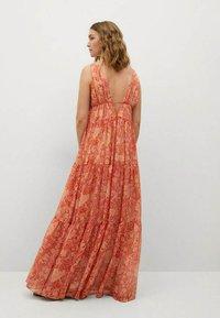 Mango - Maxi dress - orange - 1
