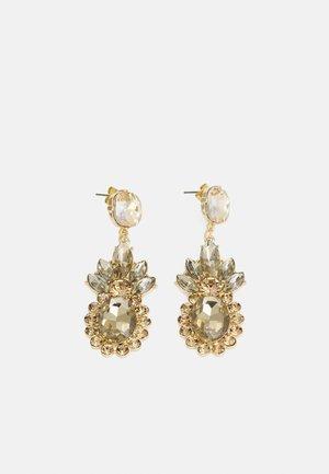 PCDERA EARRINGS - Earrings - gold-coloured/beige
