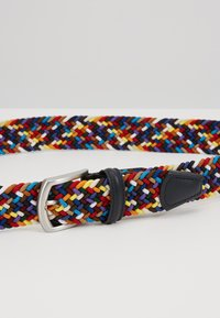 Anderson's - STRECH BELT UNISEX - Pletený pásek - multi-coloured/green/dark blue - 5