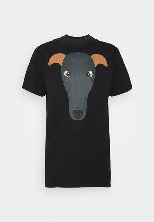 PURE - Camiseta estampada - black