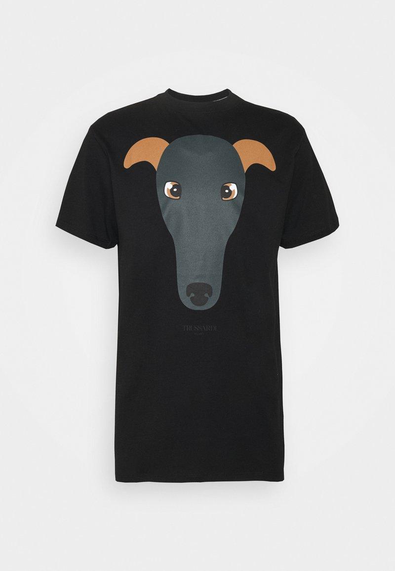 Trussardi - PURE - Print T-shirt - black