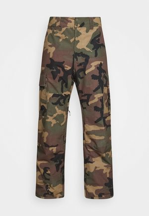 TRANSPORT - Snow pants - woodland camo