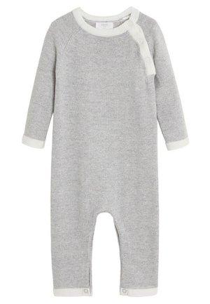 KONTRASTIERENDEN ABSCHLÜSSEN - Jumpsuit - mottled medium grey