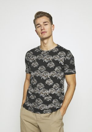 LENNART - T-shirt print - jet black