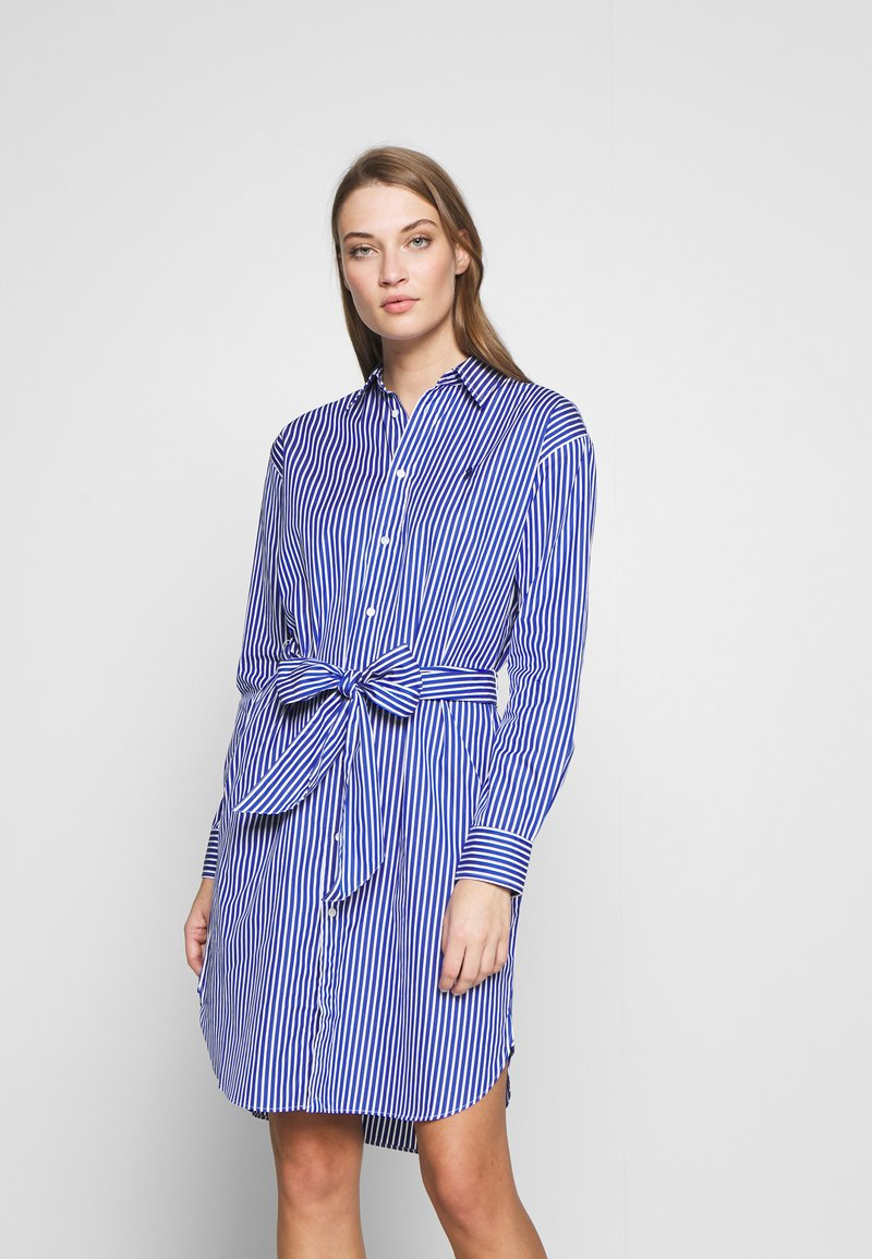 Polo Ralph Lauren - Vestido camisero - blue/white