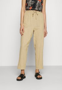 Cotton On - CALI PULL ON PANT - Trousers - brown taupe - 0