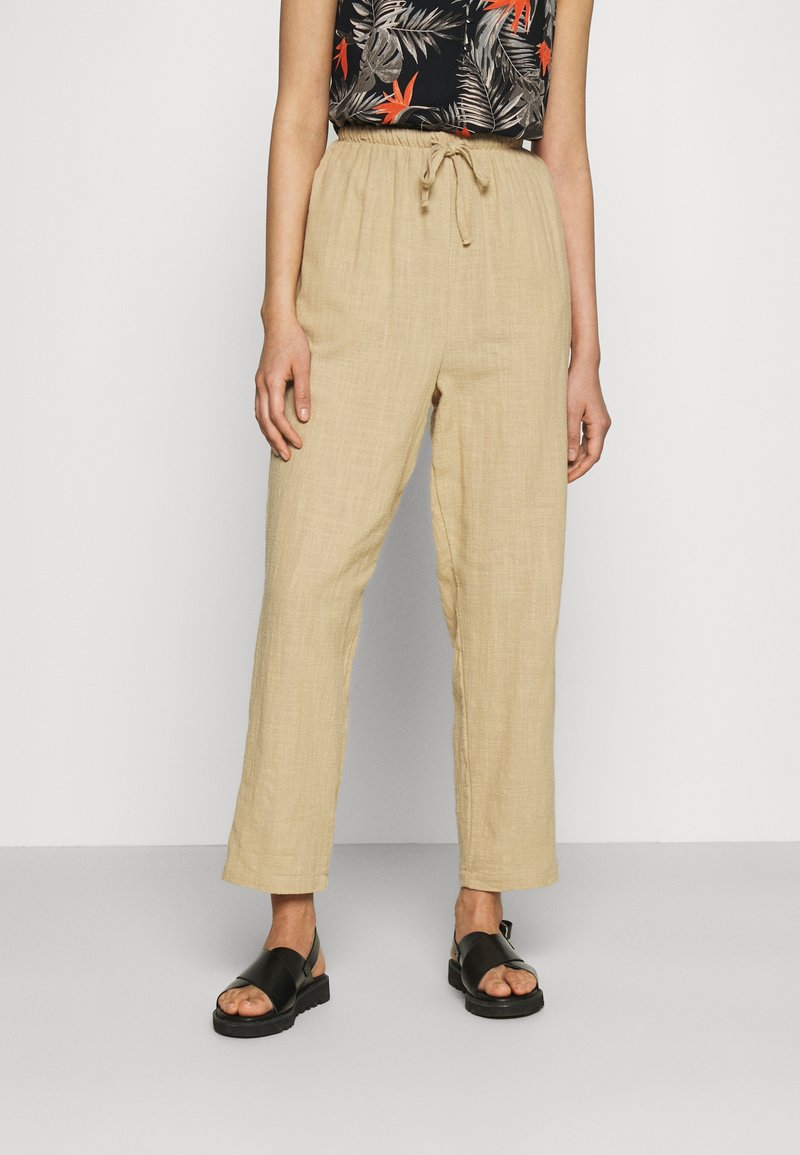 Cotton On - CALI PULL ON PANT - Trousers - brown taupe
