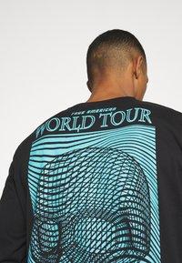 Urban Threads - GRAPHIC LONG SLEEVE TOP - Print T-shirt - black - 5