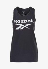Reebok - ELEMENTS REECYCLED WORKOUT TANK - Top - black - 5