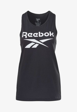ELEMENTS REECYCLED WORKOUT TANK - Topper - black