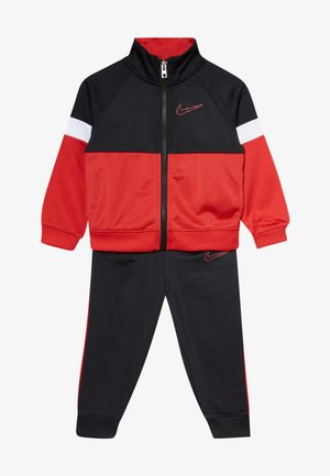 COLOR BLOCK TRICOT BABY SET - veste en sweat zippée - black