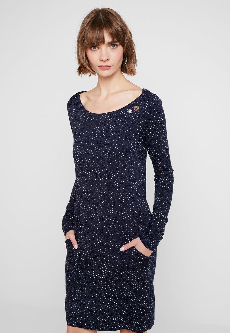 Ragwear - Jerseyklänning - navy