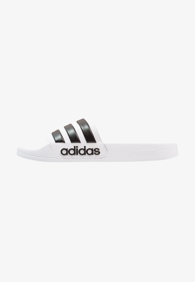 ADILETTE - Badslippers - footwear white/core black