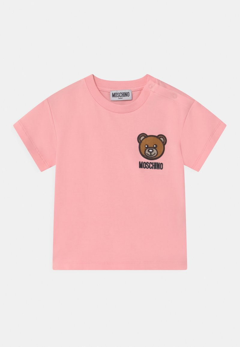 MOSCHINO - Print T-shirt - sugar rose