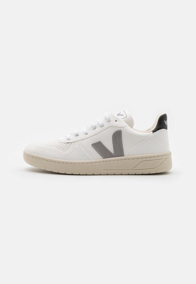 SMALL V-10 UNISEX - Sneakersy niskie - white/indigo