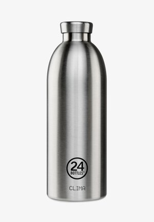 TRINKFLASCHE CLIMA BOTTLE FLORAL STEEL - Drink bottle - steel