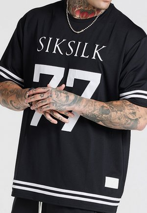 AOKI BASEBALL TEE - T-shirt imprimé - black