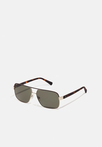 UNISEX - Sunglasses - gold-coloured/havana