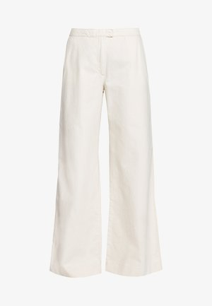 COLLOT TROUSERS - Pantalones - warm white