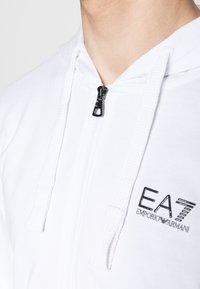 EA7 Emporio Armani - Zip-up hoodie - white - 7