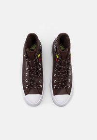 Converse - CHUCK TAYLOR ALL STAR MC LUGGED - High-top trainers - dark root/white/black - 5