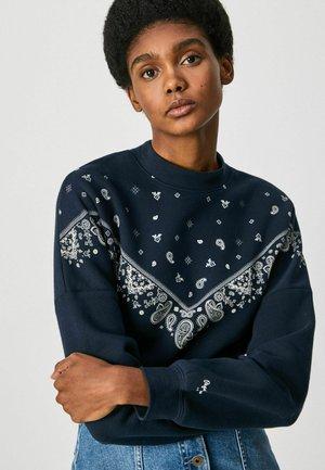 Sweatshirt - dulwich schwarz