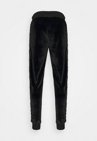 Glorious Gangsta - MATEO ZIP JOGGERS - Pantalon de survêtement - jet black - 1