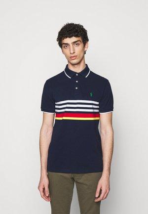 BASIC MESH - Polo shirt - newport navy mult