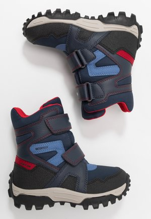 HIMALAYA BOY  - Winter boots - navy/red