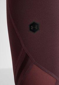 Under Armour - RUSH CROP - Collants - level purple - 6