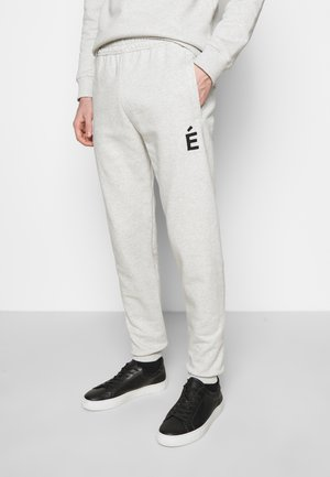 TEMPERA PATCH UNISEX - Tracksuit bottoms - heather grey